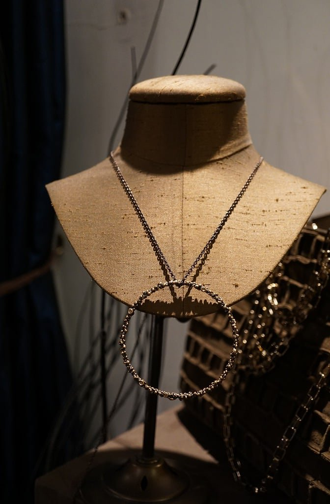 Diamond Chain Necklace (ネックレス)[CL2903 AGBR Sodalite]オーダー 商品