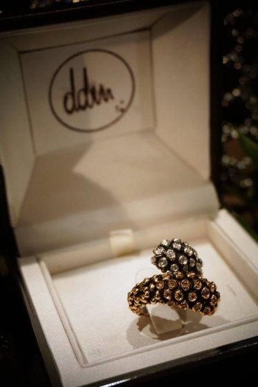 Diamond Ring (ダイヤモンドリング)[AN62 BRILL]Silver/Bronze 】Freesize オーダー商品