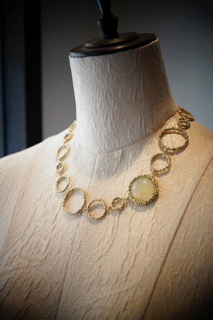 Contamination Necklace(ネックレス)[CL 5465 OTDO NewJade