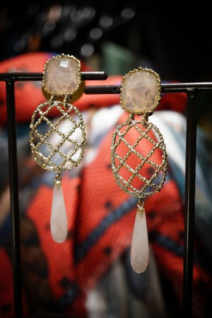 Daniela de Marchi Segreti Earrings (イヤリング)OR1244 OTAG Rosa.Q