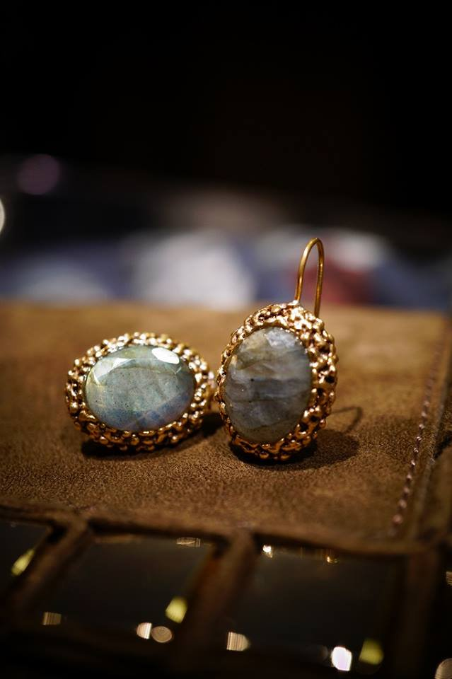 Ricordi Pieces(ピアス)[OR 1195 OTBR Labradrite