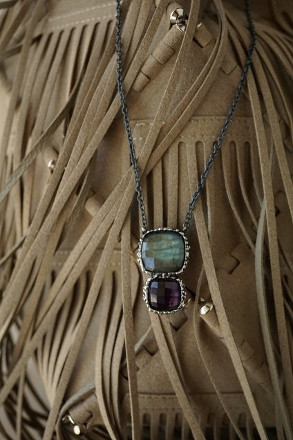 Ricordi Collection Necklace(ネックレス)[CL5496 OMI Labradorite/Smoky.Q