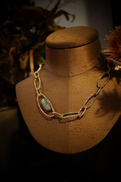 ZEN collection  Necklace(ネックレス)[CL5583 OTBR Labradorite/Smoky.Q]