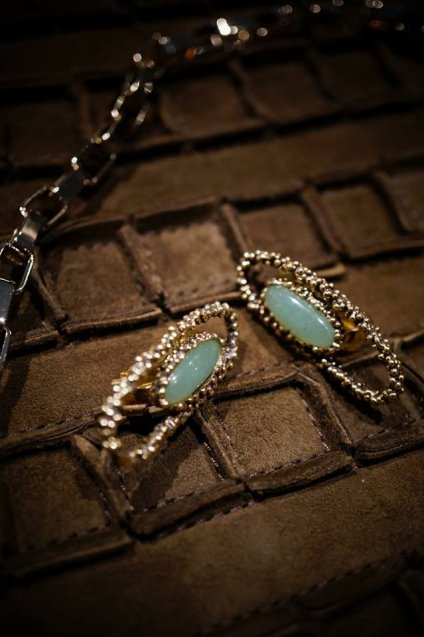 ZEN collection Earrings(イヤリング)[OR1301 OTBR Avventurina]