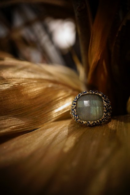 Segreti Ring(リング) AN143 OMI Labradorite