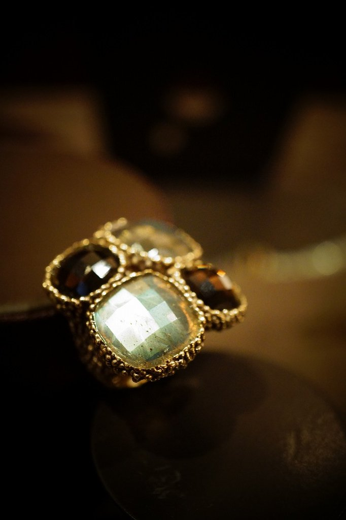 ScaccoCollection Ring (リング)[AN175 OTBR Labradorite /Smoky