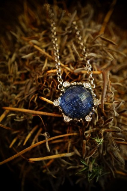 Diamond Chain Necklace (ネックレス)[CL2903 AGBR Sodalite ]オーダー商品