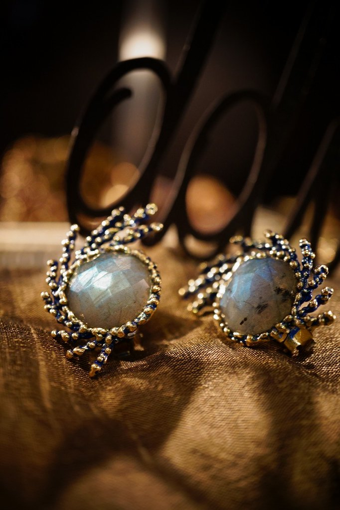 SGUARDI Collection Earrings(イヤリング)[OR 1199 OTMI Labradrite
