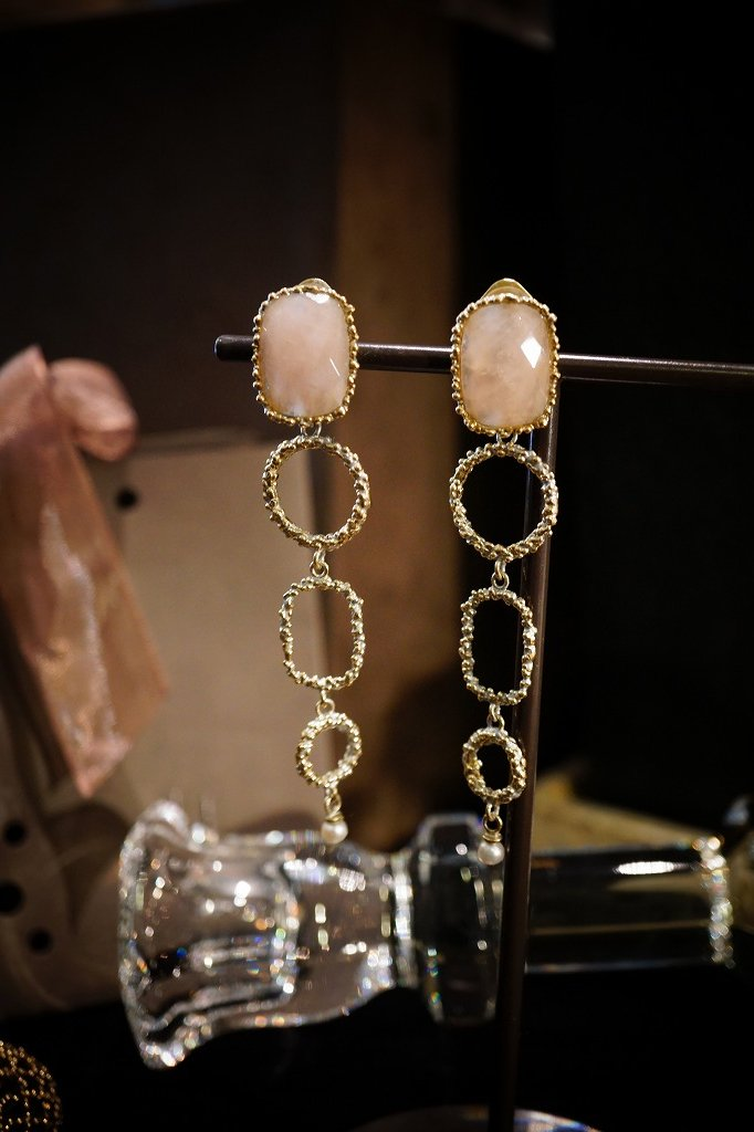 Daniela de Marchi Segreti Long Eariings(イヤリング)OR1272 OTAG Rosa.Q