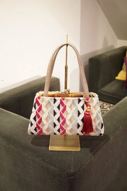 JOJO Bambooafuri HandBag Colorful