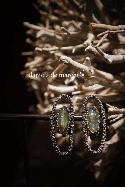 ZEN collection Earrings(イヤリング)[OR1301 AGBR Labradorite