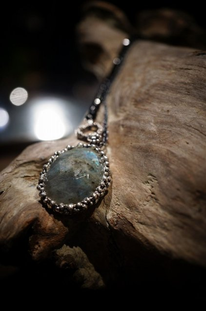 Ricordi Collection Necklace(ネックレス)[CL5496 AGBR Labradorite/Onix
