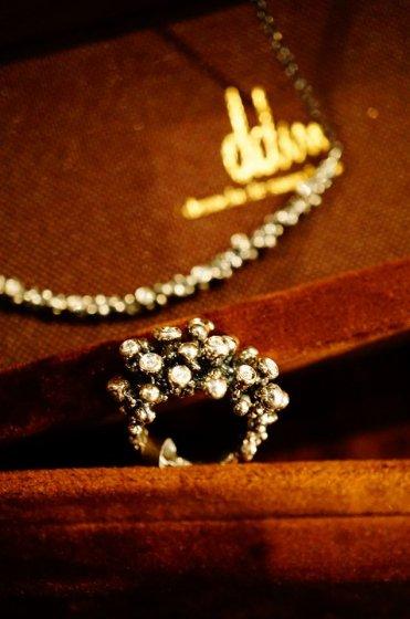 Diamond Ring AN921 AGBR シルバーブラック オーダー商品