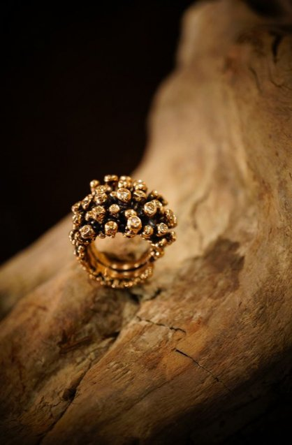 Diamond Ring AN922 BZBR FreeSize