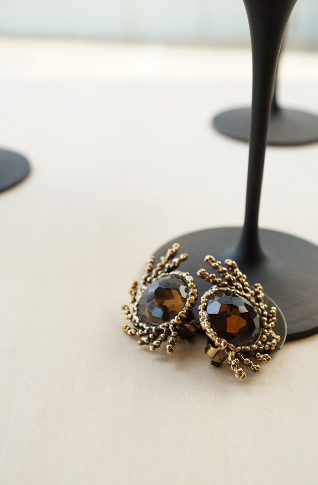 SGUARDI Collection Earrings(イヤリング)[OR 1199 OTBR Smoky.Q