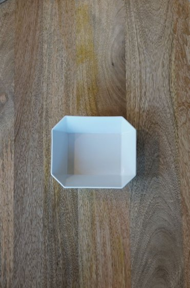 1616/arita TY Square Bowl150 White