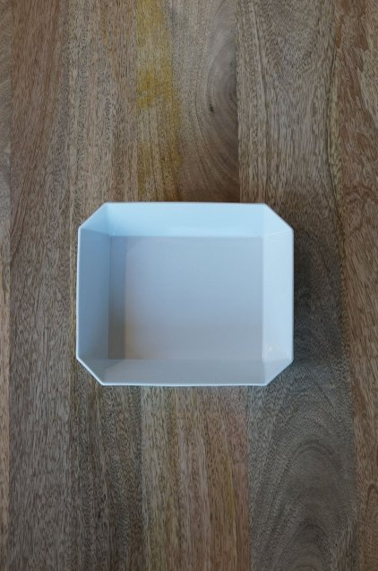 1616/arita TY Square Bowl184 White