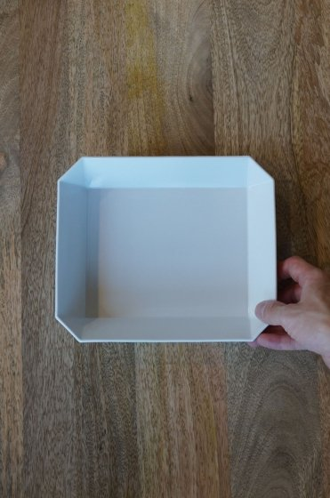 1616/arita TY Square Bowl220 White