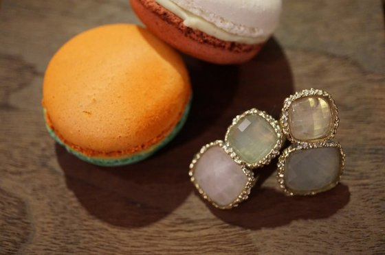 Scacco(チェス)Collection Earrings(イヤリング)[OR1303 OTAG Rosa.Q/NewJade]
