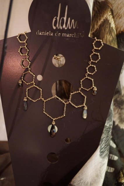 Honey Collection Necklace(ネックレス)[CL 5621 OTBR Labradrite/ Smoky.Q]