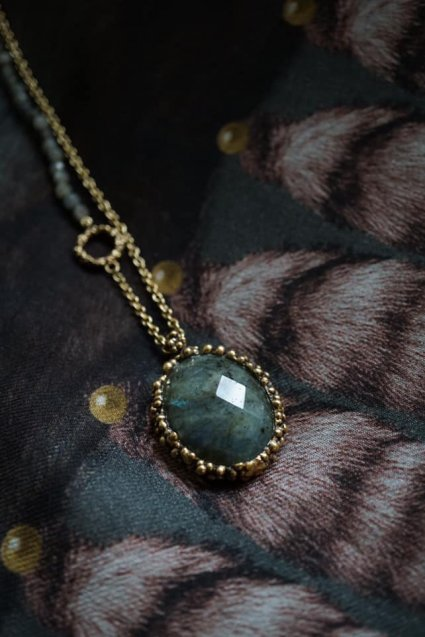 Ricordi Collection 2WAY Necklace(ネックレス)[CL5496 OTBR Labradorite