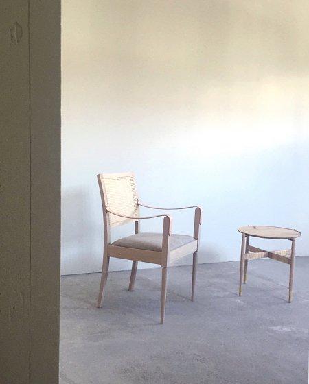 WOHLHUTTE(ヴォールヒュッテ) Tou arm chair Black