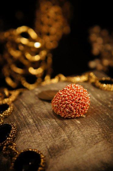Sea Urchin Band Ring (リング)[AN130 OTRO]