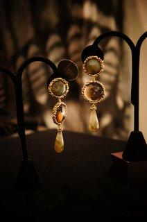 Daniela de Marchi long peacock Earrings/(イヤリング)