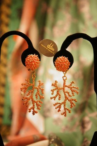 Daniela de Marchi Coral Earrings(イヤリング)