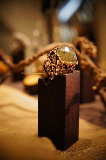 Daniela de Marchi Brambles Ring(リング)[AN40 OTBR Labradorite]
