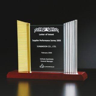 アクリル板付金属製楯 JP-A99-04