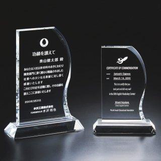 クリスタルガラス製オーナメント JP-A08-02