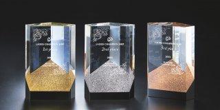 クリスタルガラス製オーナメント JP-A07-01
