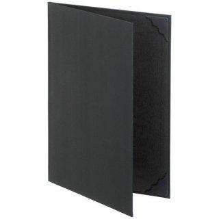 証書・賞状ホルダーA4サイズ 黒 JP-FSH-A4D