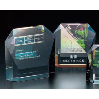 クリスタル2Dレーザー彫刻表彰楯 JP-VOS.315L