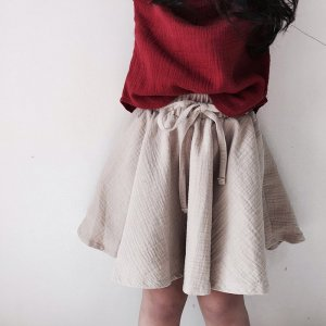 waist ribbon skirt