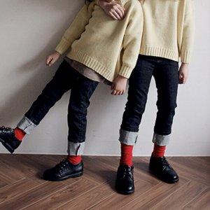 rosso denim pants