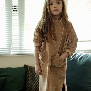 corduroy long dress
