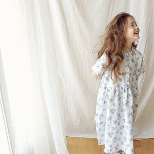 marguerite linen dress