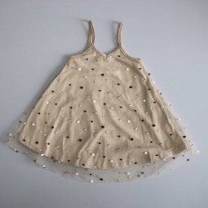 tulle dot cami