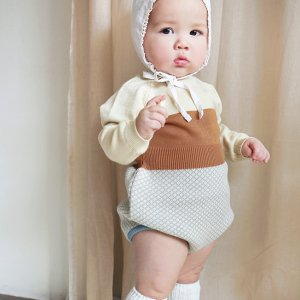 【ORDER】baby knit suit