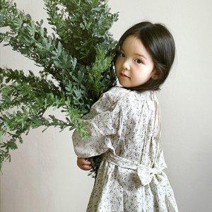 old lace flower dress
