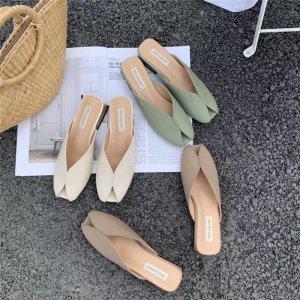 square cut sandal