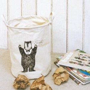 animal cotton basket