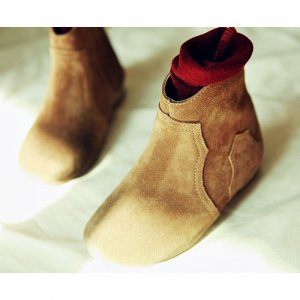 【ご予約】suede short boots