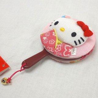 葉朗彩々 KTチリメン日本人形 手鏡