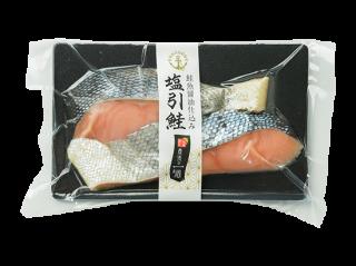 鮭魚醤油仕込み塩引き鮭