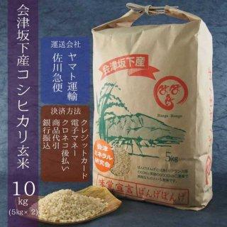 令和元年産 会津坂下産コシヒカリ 玄米10kg(5kg×2)