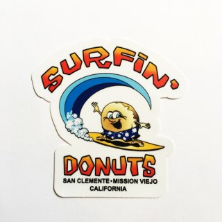 [SURFIN' DOUGNUTS]Sticker