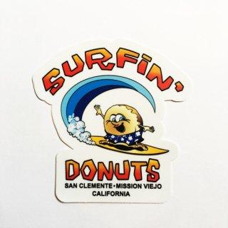 [SURFIN' DONUTS]Sticker
